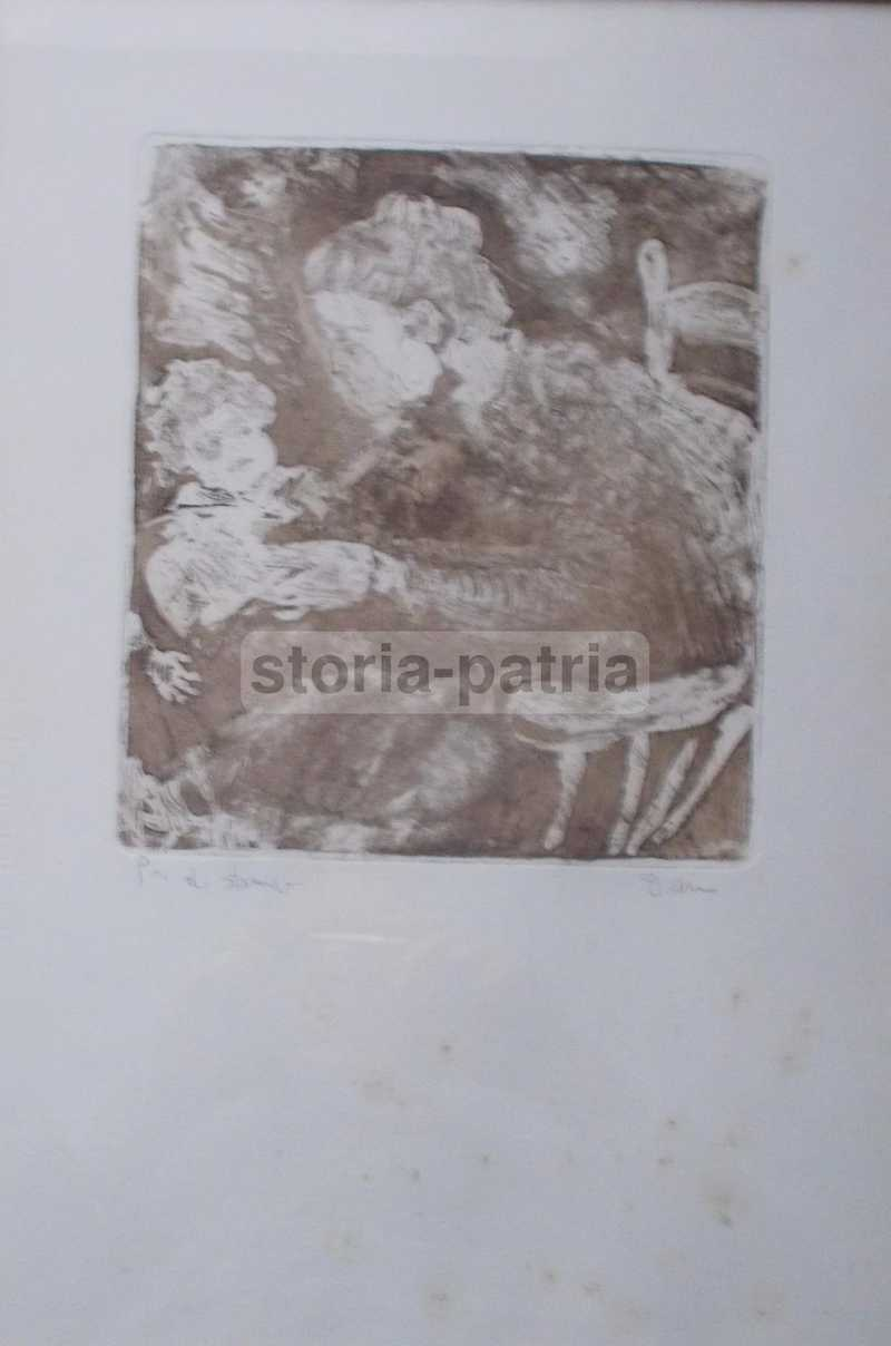 Arte Contemporanea, Incisione Artistica, Puglia, Salento, Urso, Decorativa Grafica immagine 1